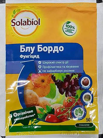 Фунгіцид Блу Бордо в. р. (50 гр), Solabiol, фото 2