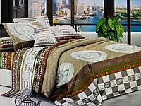 Полуторное сатиновое постельное белье Gucci