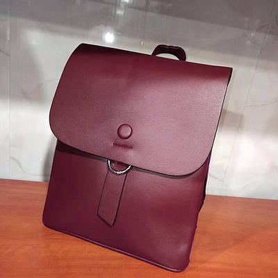 Красивый женский городской кожаный рюкзак. Модель G6867
