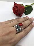 Комплект серебряных украшений Природа коралл от Ирида-В, фото 3