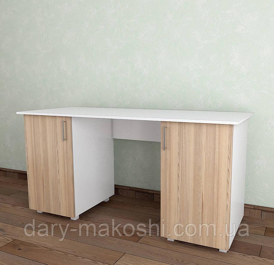 Стол письменный Тавол Ясбел СТ2Т 1500х600х750 Белый/Ясень