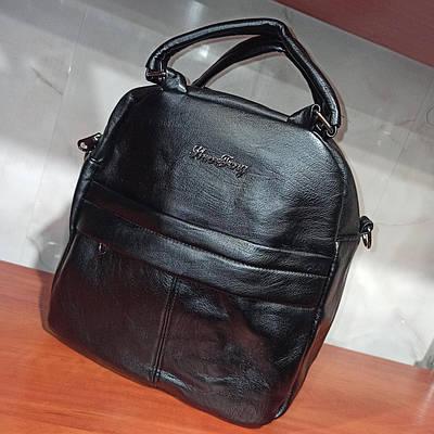 Красивый женский кожаный городской рюкзак.Модель77-11