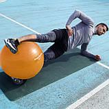 Мяч для фитнеса и гимнастики POWER SYSTEM PS-4013 75cm Orange, фото 7