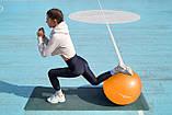 Мяч для фитнеса и гимнастики POWER SYSTEM PS-4013 75cm Orange, фото 8