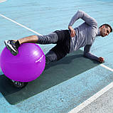 Мяч для фитнеса и гимнастики POWER SYSTEM PS-4018 85 cm Purple, фото 10