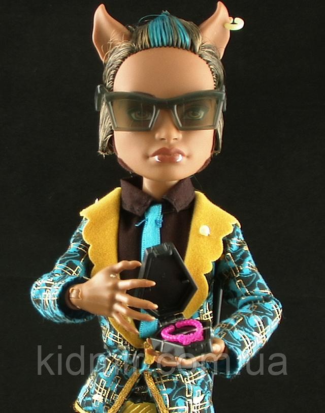 Эксклюзивная кукла Monster High Клод Вульф (Clawd) Сладкие 1600 Монстер Хай Школа монстров