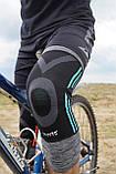 Эластический наколенник Power System Knee Support Evo PS-6021 M Black/Blue, фото 9