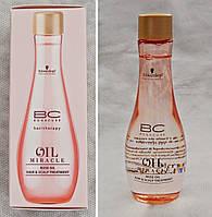 Schwarzkopf Маска-масло для подверженных стрессу волос и кожи головы Oil Miracle ROSE OIL 100 мл.