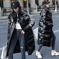 Зимняя женская куртка Oversize S-M