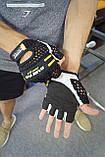 Перчатки для фитнеса и тяжелой атлетики Power System Basic EVO PS-2100 L Black/Yellow Line, фото 10