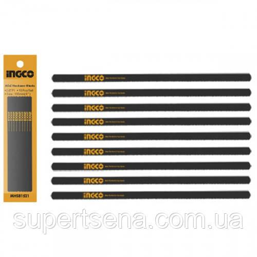 Набір пиляльних полотен для міні ножівки INGCO MHSB1521