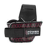 Крюки для тяги на запястья Power System Hooks V2 PS-3360 Black/Red L, фото 6