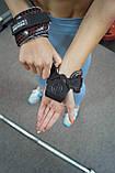 Крюки для тяги на запястья Power System Hooks V2 PS-3360 Black/Red L, фото 9