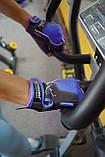 Перчатки для фитнеса и тяжелой атлетики Power System Woman's Power PS-2570 женские Blue XL, фото 9