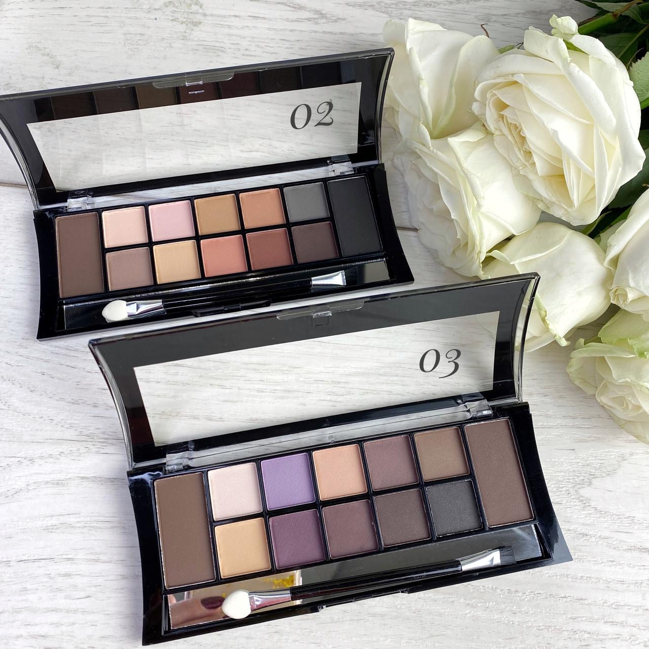 DoDo Girl  Makeup Professional 12 Colors Palette 2 в 1
