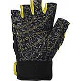 Перчатки для фитнеса и тяжелой атлетики Power System Classy Женские PS-2910 XS Black/Yellow, фото 2