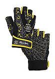 Перчатки для фитнеса и тяжелой атлетики Power System Classy Женские PS-2910 XS Black/Yellow, фото 3