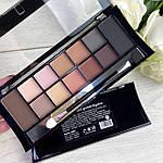 DoDo Girl  Makeup Professional 12 Colors Palette 2 в 1, фото 3
