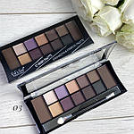 DoDo Girl  Makeup Professional 12 Colors Palette 2 в 1, фото 5
