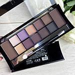 DoDo Girl Makeup Professional 12 Colors Palette 2 в 1, фото 2