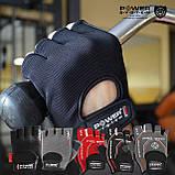 Перчатки для фитнеса и тяжелой атлетики Power System Pro Grip PS-2250 S Grey, фото 6
