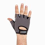 Перчатки для фитнеса и тяжелой атлетики Power System Pro Grip PS-2250 XXL Grey, фото 2