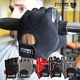 Перчатки для фитнеса и тяжелой атлетики Power System Pro Grip PS-2250 XXL Grey, фото 7