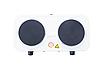 Двухконфорочная электроплита дисковая настольная электрическая плита Crownberg CB-3746 2000W, фото 3