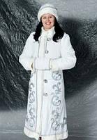 Костюм для взрослых Снегурочка Белый
