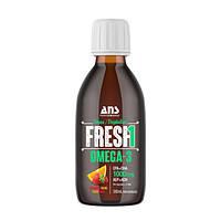 Вітаміни ANS Performance Fresh1 Веганські Омега-3 зі смаком полуниці-апельсин 200мл