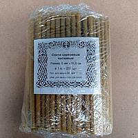 Восковые свечи церковные №30 (71 шт/кг), фото 1