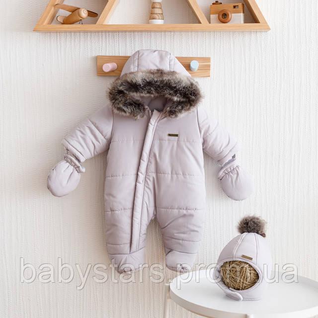 набор зимний для новорожденного