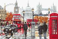 """Набор для вышивки крестом """"Лондон"""" B2376"""