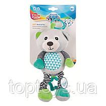 Іграшка Canpol Babies плюшева музична Bears (68/053_grey)