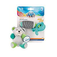 Плюшева іграшка Canpol babies з дзвіночком Bear (68 / 054_grey)