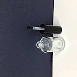 Флакон прозрачный с кисточкой (бутылочка стекло, ) 14 мл., фото 4