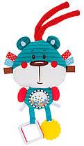 Іграшка плюшева розвиваюча Forest Friends синій ведмедик (68/042_blu)