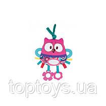 Іграшка плюшева розвиваюча Forest Friends рожева сова (68/042_pin)