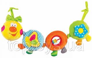 Іграшка-підвіска Happy Snail Весела Гусеничка (14HS003PG)