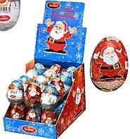 *NEW_YEAR Aras Шоколадне яйце сюрприз Дід Мороз 25г*24шт
