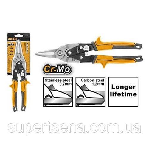 Универсальные ножницы по металлу 250 мм INGCO HTSN2610S INDUSTRIAL