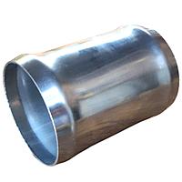 З'єднувач тосольний 70 мм з нержавіючої сталі.