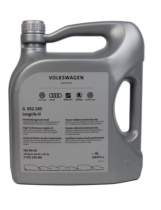 Масло моторне VAG Longlife III 5W-30, 5 л (замінений на G S55 545 M4) (G052195M4)