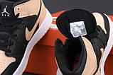 Кросівки жіночі Nike Air Jordan Retro в стилі найк джордан Чорні (Репліка ААА+), фото 7