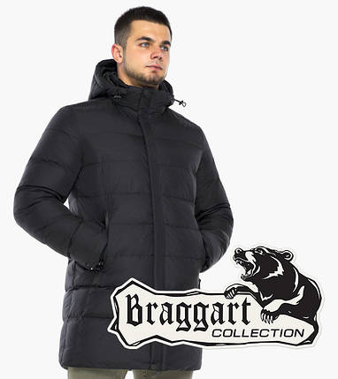 Braggart Aggressive 48052   Зимняя куртка черная, фото 2