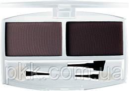Тени-корректор для бровей и век FFleur Eyebrow компактные матовые двойные набор 7А MIX упаковка EВ01