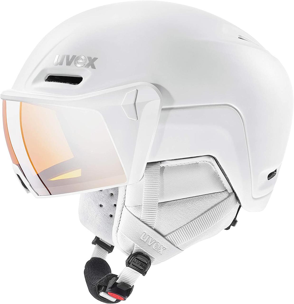 Шолом гірськолижний  Uvex з забралом hlmt 700 visor | XL(59-61)
