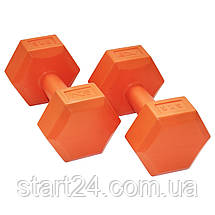 Гантели SportVida 2 x 3 кг SV-HK0219, фото 2