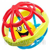 М'яч брязкальце BeBeLino м'який (58108)