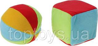 Набір брязкальця Canpol Babies М'ячик і кубик (2/893)